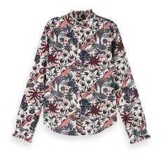 product-Scotch & Soda Printed Blouse