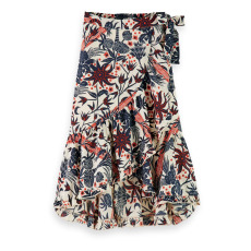 product-Scotch & Soda Printed Skirt