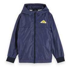 product-Scotch & Soda Waterproof Hooded Jacket