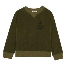 product-Hundred Pieces Cool Pieces Sweatshirt, Velvet
