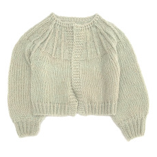 product-Longlivethequeen Rough Mohair Cardigan