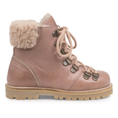 product-Petit Nord Lace-up Fur Lined Boots