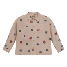 product-Bobo Choses Camisa Geométrica Lyocell