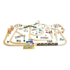 product-Le Toy Van The Royal Express Train and accessories - 180 pieces