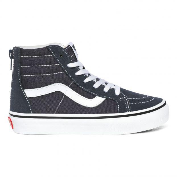 SK8-Hi Zip-up Sneakers Blue Vans Shoes