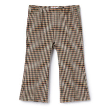 product-Il Gufo Pantalon Flare Carreaux