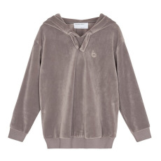 product-Designers Remix Girls Hoodie Velours Frances