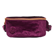 product-Mi-Pac Gold Slim Velour Belt Bag