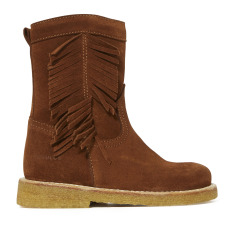 product-Angulus Bottes Suede Franges