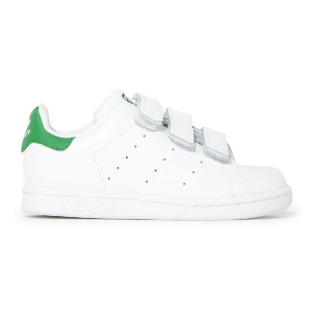 Stan Smith Velcro Leather Sneakers