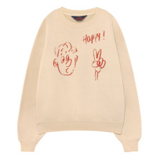 product-The Animals Observatory Happy Bear Sweatshirt