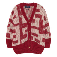 product-The Animals Observatory Cardigan Racoon Alpaga et Laine