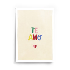 product-Taxi Brousse Te Amo A4 Poster