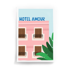 product-Taxi Brousse Hôtel Amour A4 Poster
