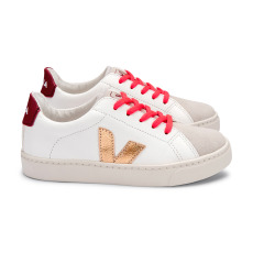 product-Veja Esplar Leather Lace-up Trainers