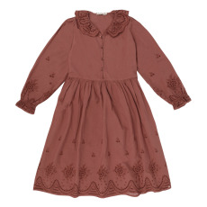 product-the new society Beatrice Organic Cotton Embroidered Dress