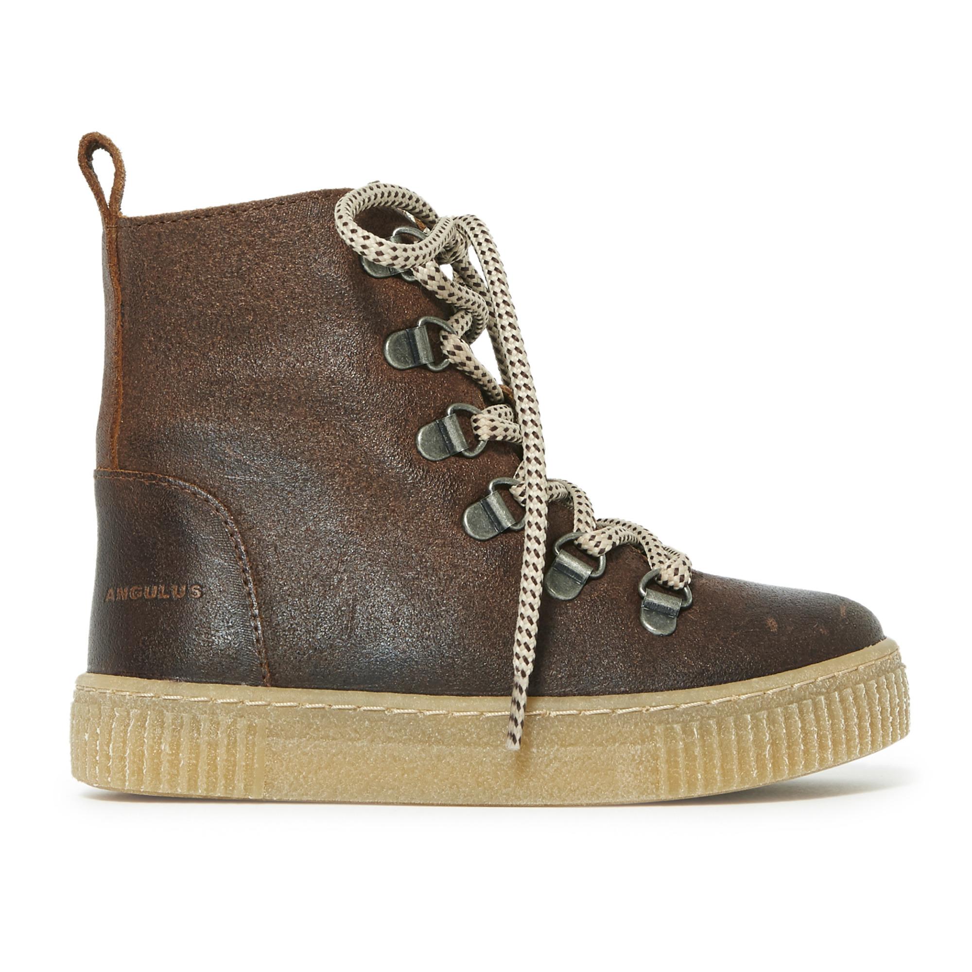 Boots Fourrées Lacets