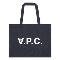 product-A.P.C. Daniela Denim Shopping Tote