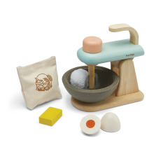 product-Plan Toys Rubber Wood Food Processor Toy