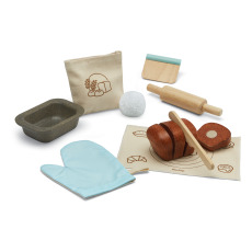 product-Plan Toys Rubber Wood Bakery Toy