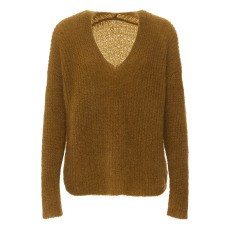 product-Pomandère Pull Mohair col V