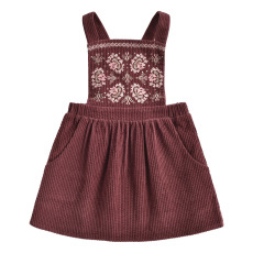product-Louise Misha Liama Velvet Apron Dress
