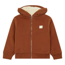 product-Hundred Pieces Hoodie Zippé Coton Bio