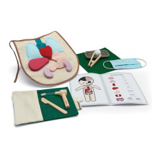 product-Plan Toys Rubber Wood Surgeon's Kit Toy