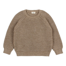 product-Buho Serge Wool and Alpaca Jumper