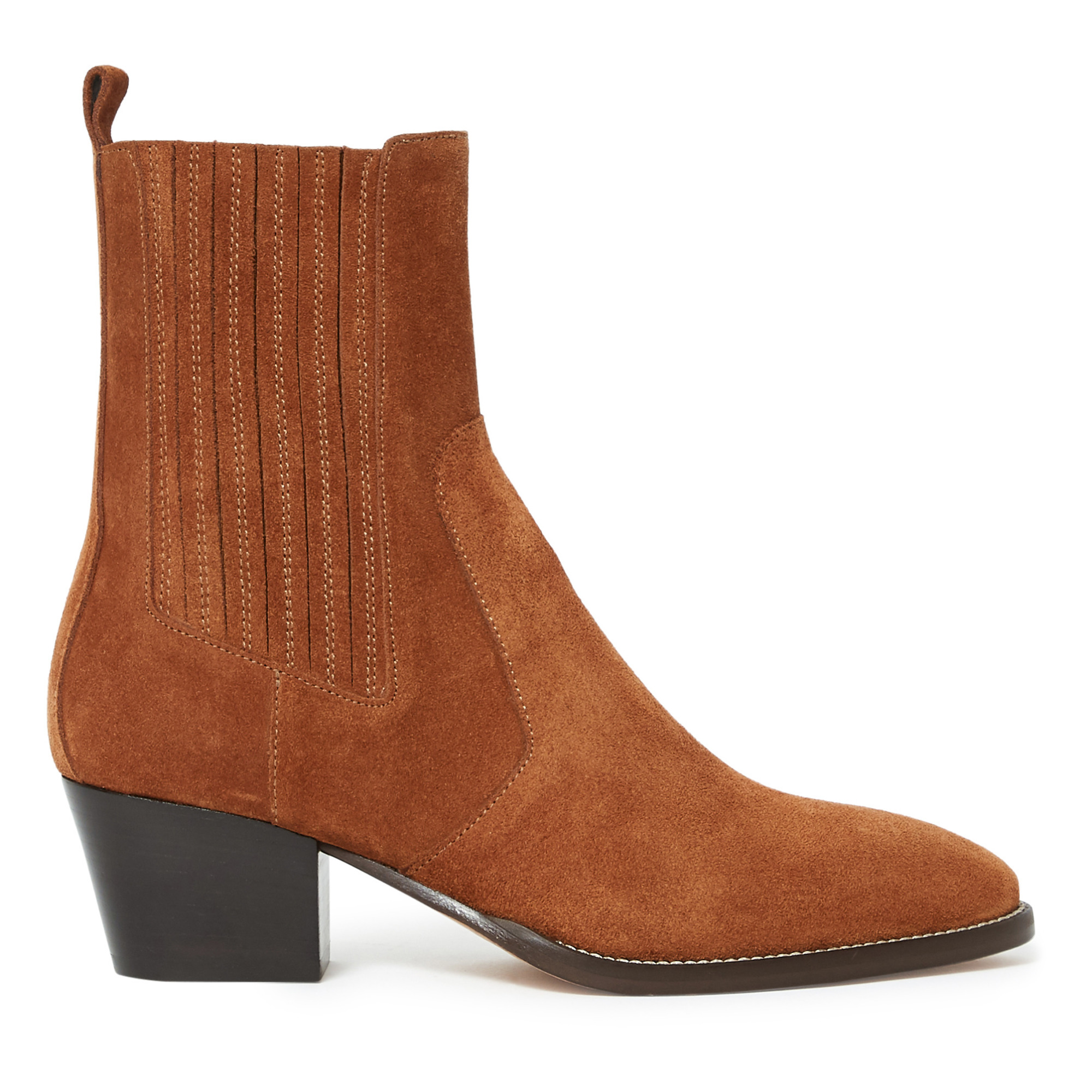 Mania Suede Leather Boots