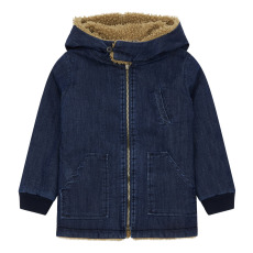 product-Emile et Ida Faux Fur Reversible Parka