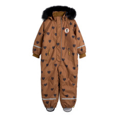 product-Mini Rodini Waterproof Hearts Baby Snowsuit