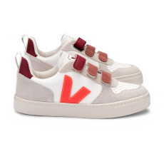 product-Veja Veja x Bonton V-10 Velcro Leather Trainers