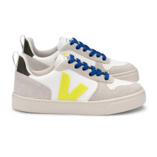 product-Veja Veja x Bonton V-10 Leather Lace-up Trainers