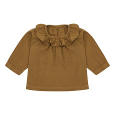 product-Poudre Organic Charme Double Organic Cotton Muslin Blouse
