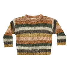product-Rylee + Cru Striped Sweater