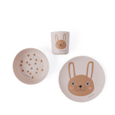 product-Oyoy Bamboo Rabbit Dinner Set