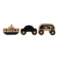 product-Oyoy Wooden Cars and Boats