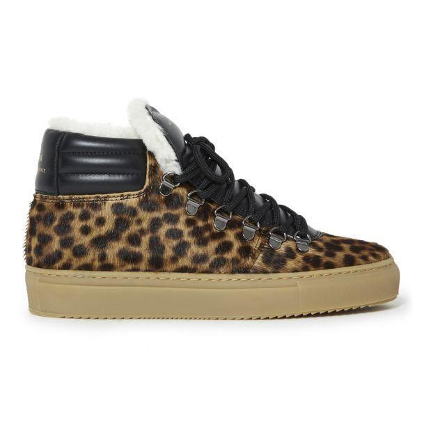 ZSP2 Pony Fur Sneakers Leopard Zespà