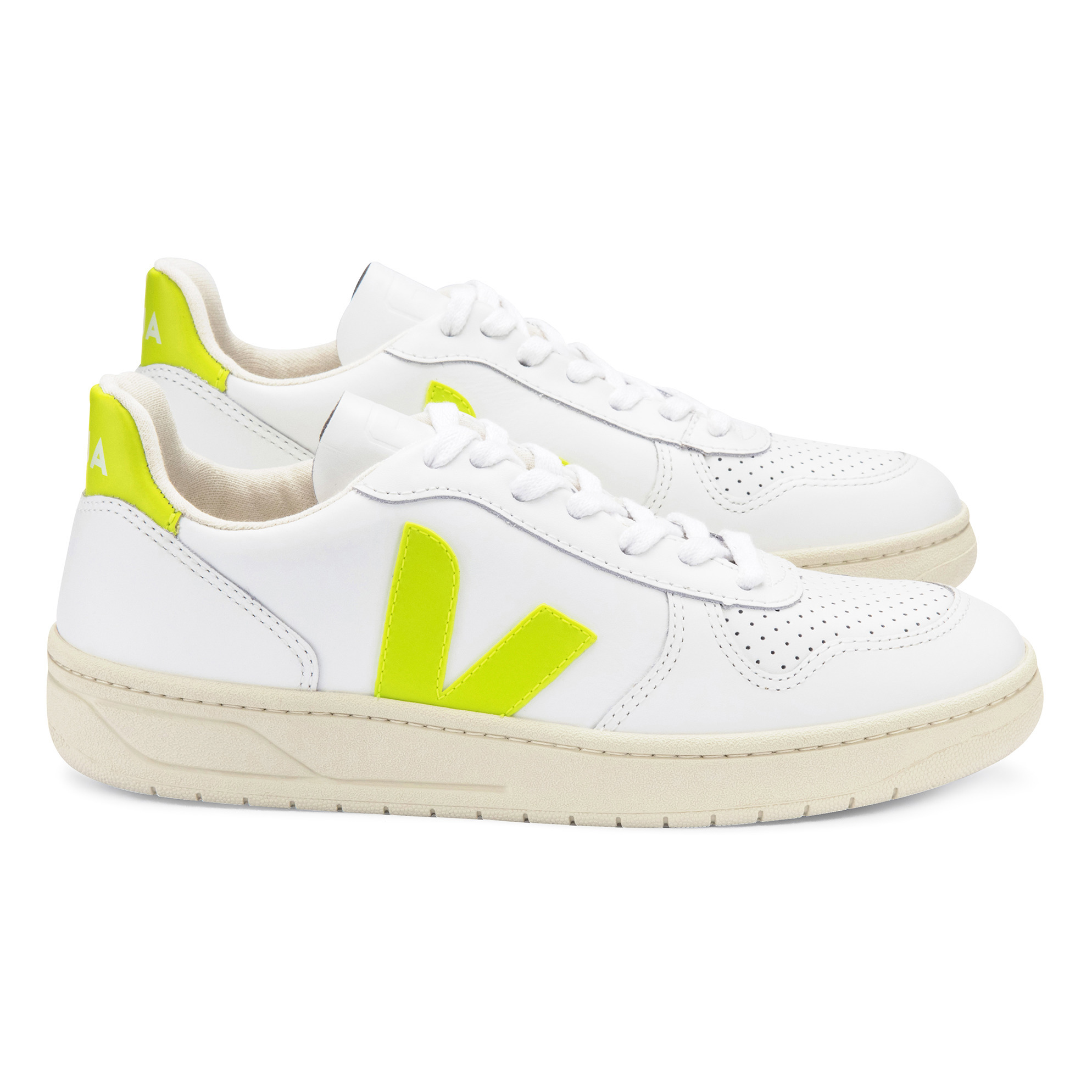 V-10 Leather Sneakers - Women's