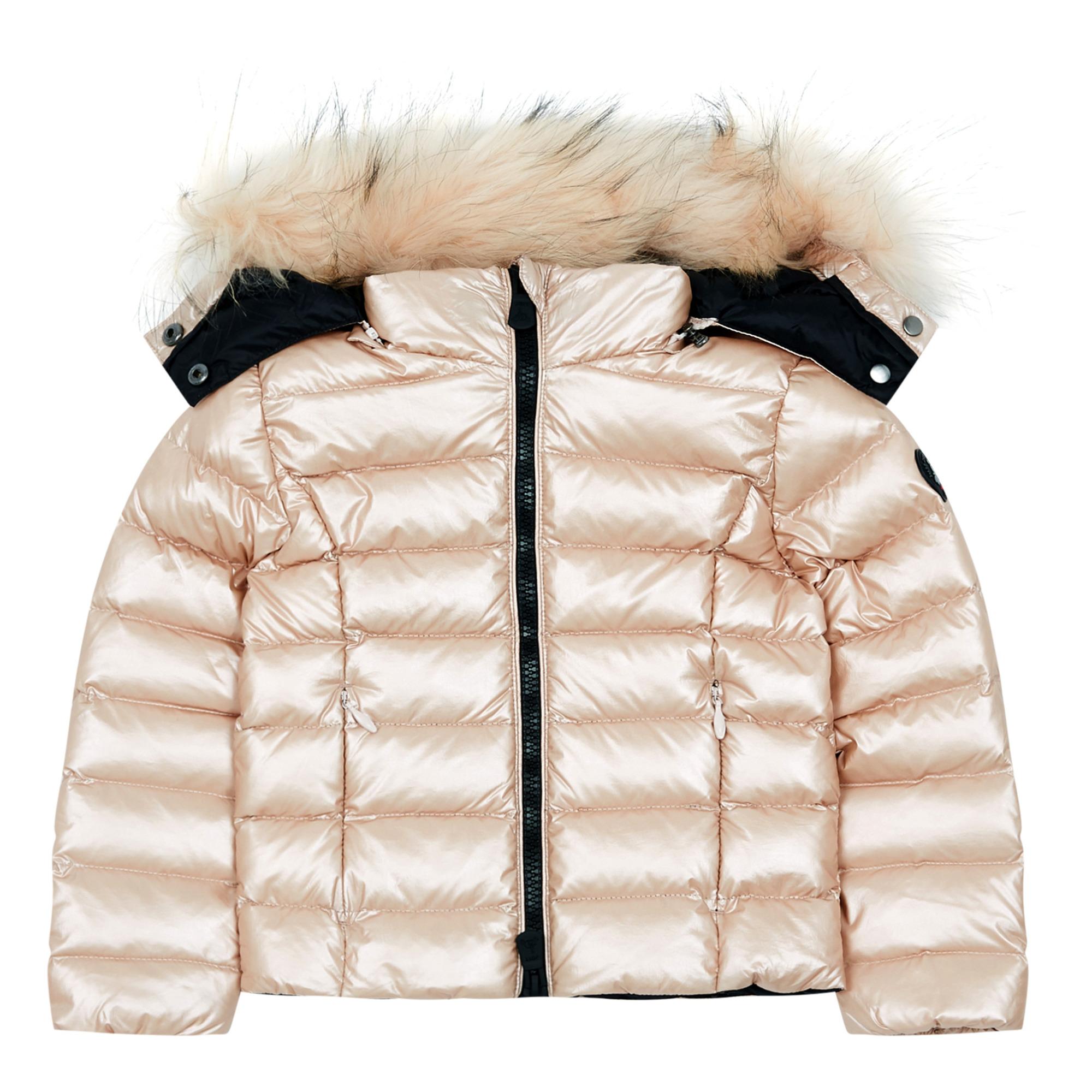 Da Donna Piumino in pelliccia sintetica Cappotto parka con cappuccio Taglia 8 10 12 14 Senape