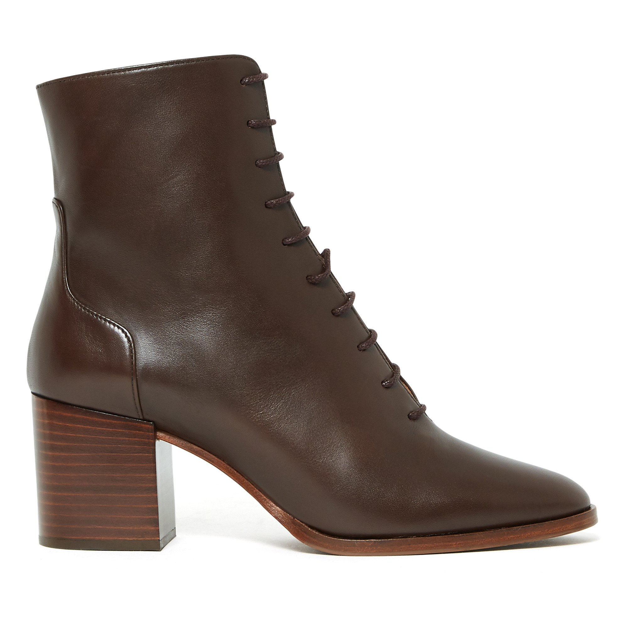 Nâ° 662 Leather Ankle Boots