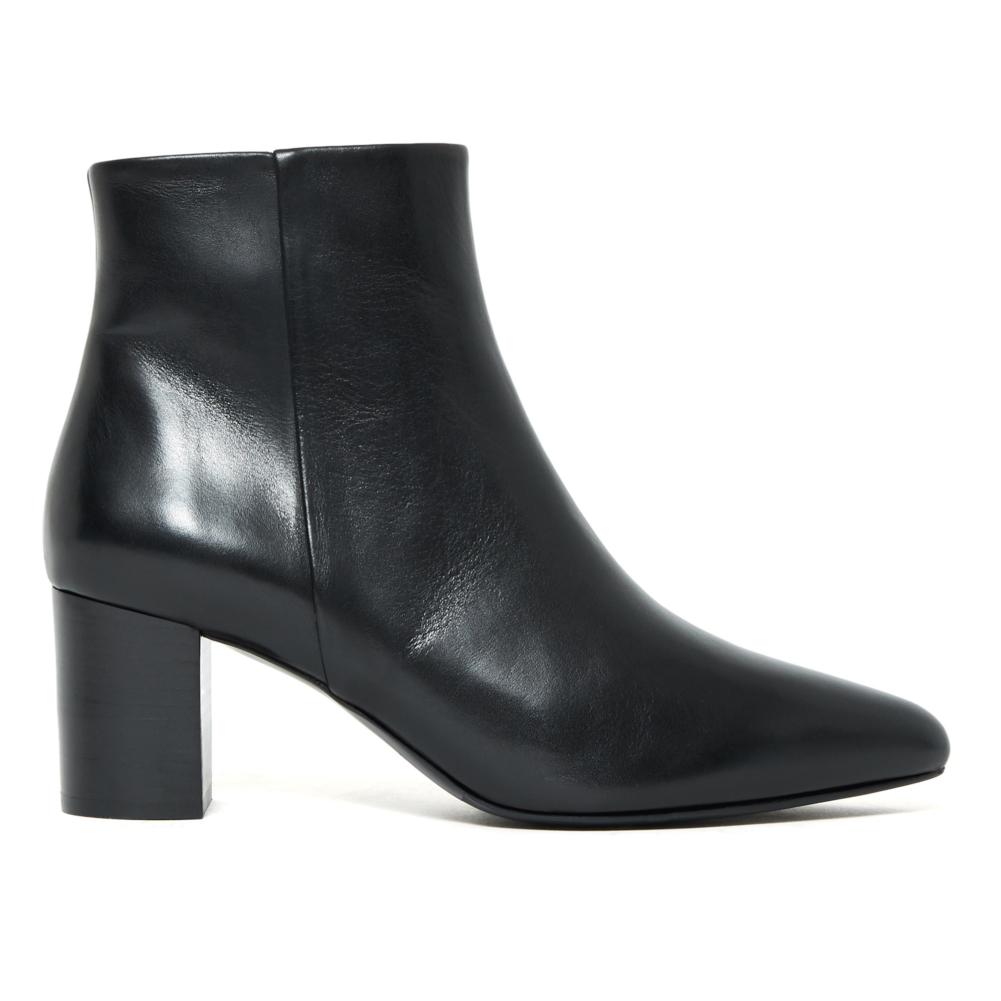 Nâ° 107 Leather Ankle Boots