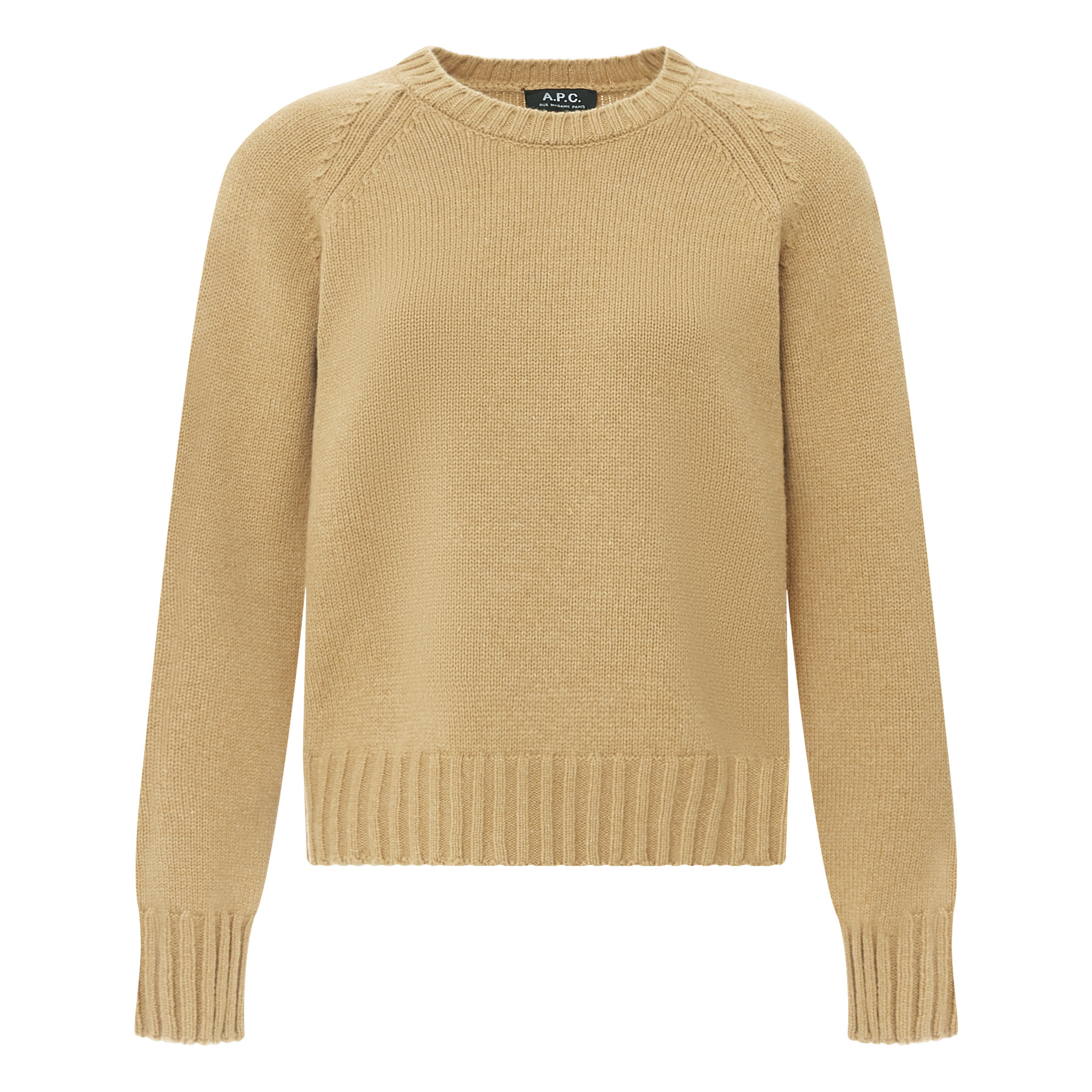 Alyssa Lambswool Sweater Camel A.P.C. Fashion Adult