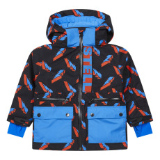 product-Stella McCartney Kids Lightning Bolt Coat, Recycled Polyester - Ski Collection -