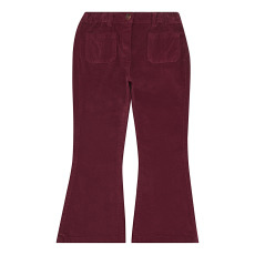 product-Zhoe & Tobiah Velour Flare Trousers