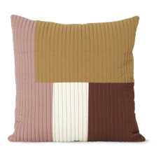 product-Ferm Living Shay Quilt Cushion - 50x50cm