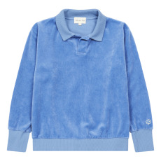 product-We Are Kids Leonard Velvet Polo in Organic Cotton