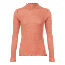 product-About Pinkles Tencel Merino Wool Polo-neck Jumper