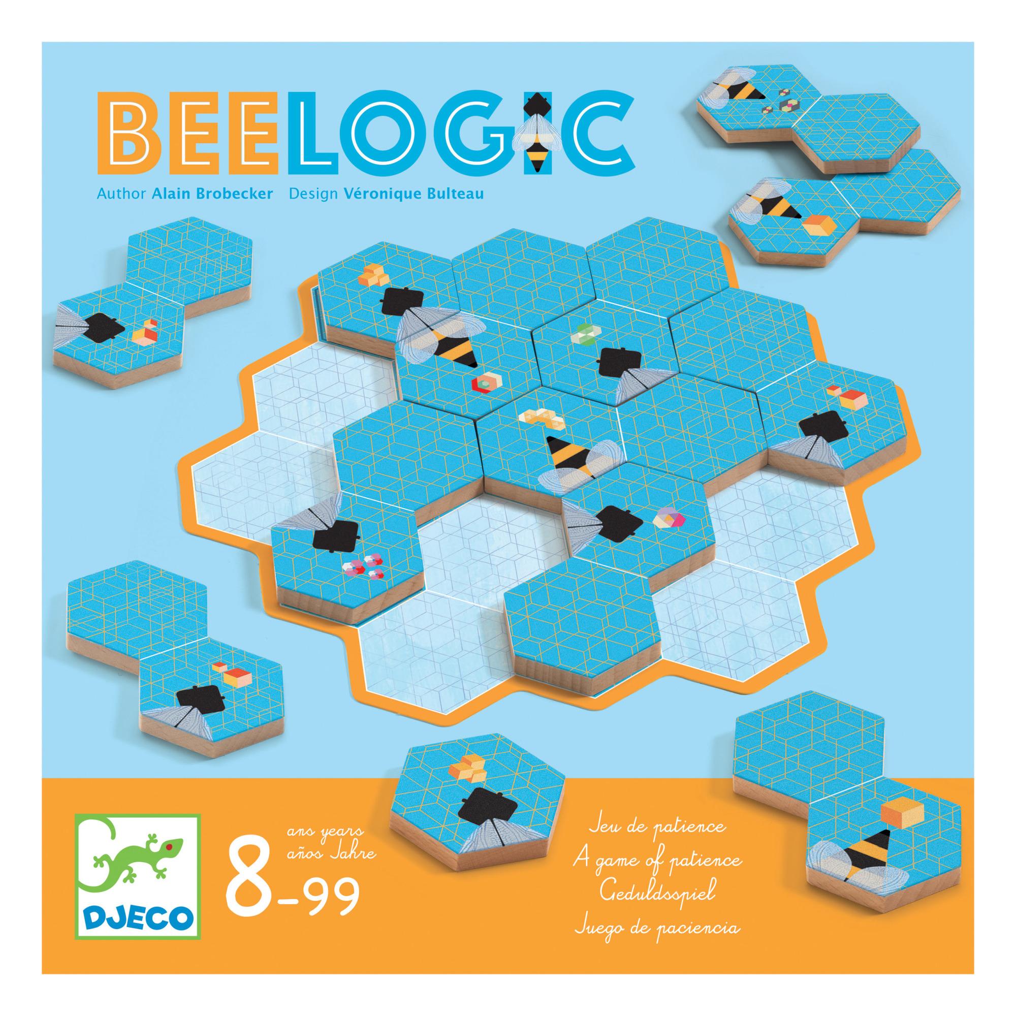 Djeco - Jeu de logique Bee Logic - Multicolore